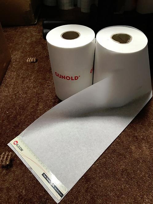 Gunold 1640NC Backing 37g White 100m x 21cm Embroidery stabiliser Medium Weight
