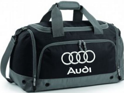 Personalised Audi Holdall Boot Tidy Bag Gym Bag, Shoe Bag Cleaning Equipment Bag