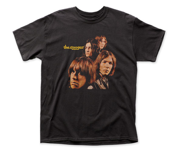 IGGY POP & THE STOOGES T-SHIRT / Iggy Pop THE STOOGES 70s Punk Rock Tee