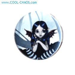 A Little Batty Fairy Button