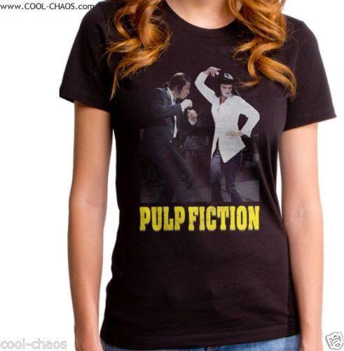 Vincent & Mia Dancing Pulp Fiction T-Shirt / Juniors Movie Tee