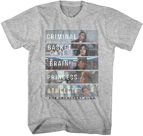 The Breakfast Club T-Shirt / 80s Who we are Breakfast Club Tee