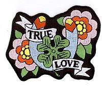 Retro Tattoo Lucky True Love Patch