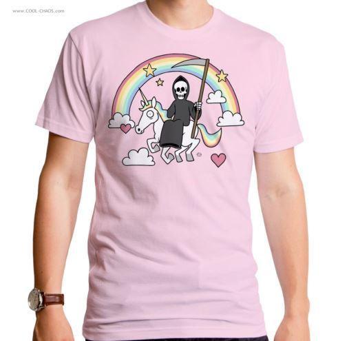 Rainbow Union Reaper T-Shirt / Funny Men's Tee
