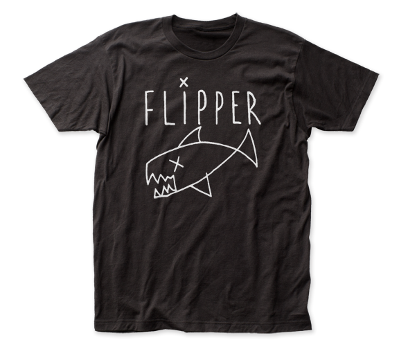 FLIPPER T-SHIRT / FLIPPER Punk Rock Band Tee