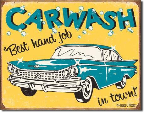 Funny Car Wash Sign