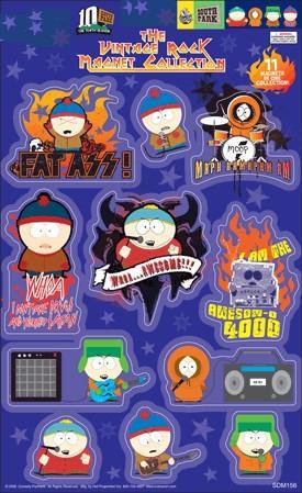 South Park Vintage Rock Magnets