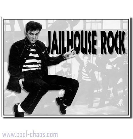 Jailhouse Rock Elvis Sign