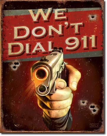 Home Protected Gun Sign
