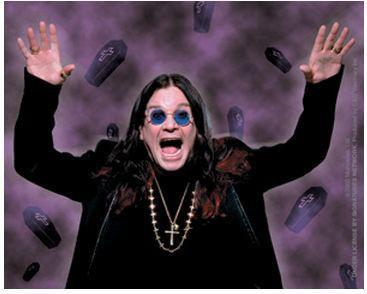 Coffins Ozzy Osbourne Sticker