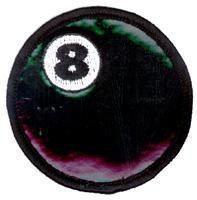 Billiards 8 Ball Patch