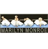 Marilyn Monroe Pin-up Sticker