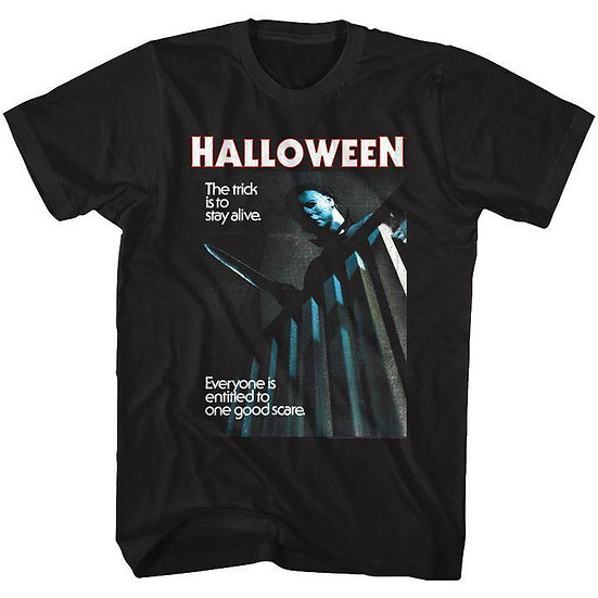 Halloween T-Shirt / The trick is to stay alive Tee