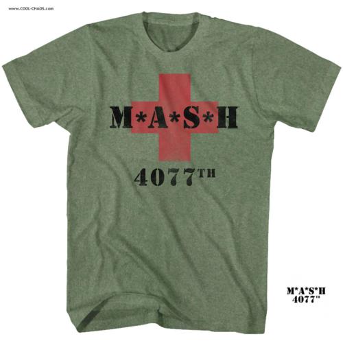 M*A*S*H TV Show T-Shirt /,MASH 4077th Red Cross Tee