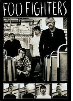 Foo Fighters Postcard
