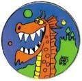Puff the Magic Dragon Pin