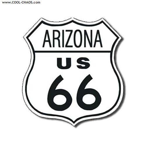 Arizona Route 66 Street Sign