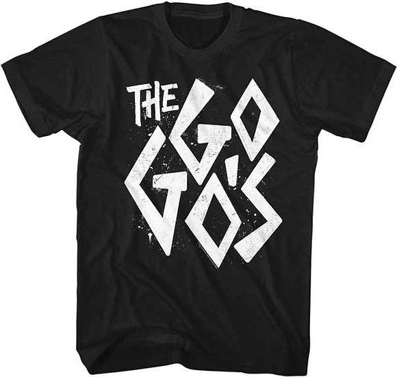 The GoGo's T-Shirt / Gogo's Tiki-Style Logo 80's New Wave Tee