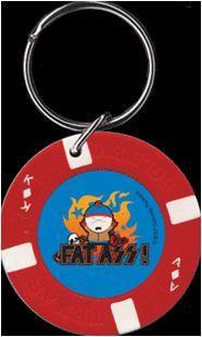 Fat-Ass South Park Cartman Keychain