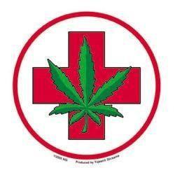 Medical Marijuana Button