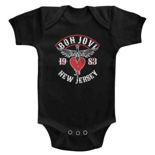 Bon Jovi One-Piece Baby Romper / Rock Baby Gift NFANT ROMPER