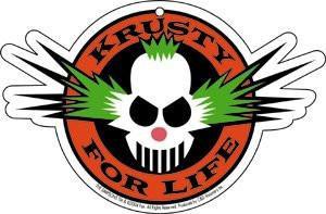 Krusty for Life Air Freshener