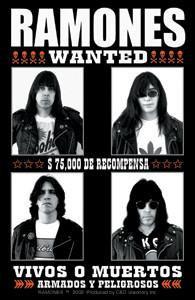 The Ramones Most Wanted Sticker Vivos O Muertos