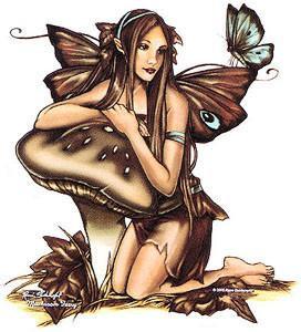 Tigertail Butterfly Fairy Sticker
