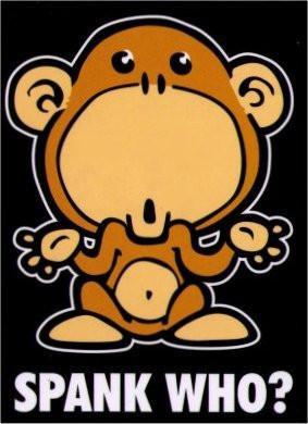 Spanking the Monkey Magnet