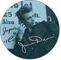 James Dean Magnet #1 Mini Smile Magnet