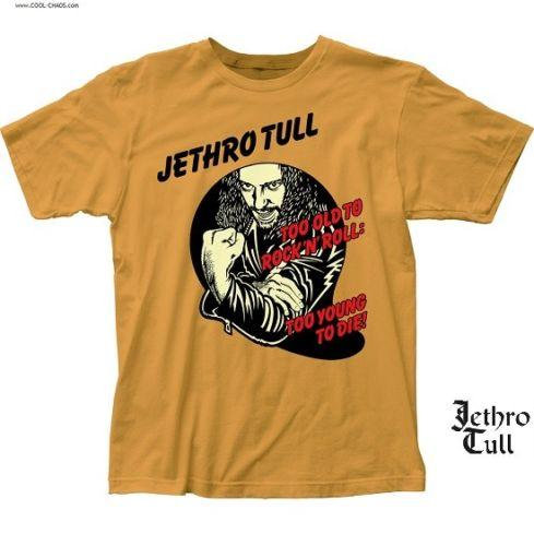 Jethro Tull T-Shirt / Jethro Tull Too old to Rock n Roll