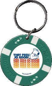 Brian Buttrub Family Guy Poker Chip Keychain