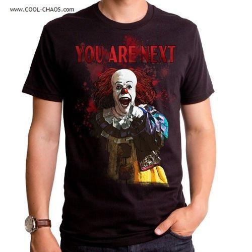 Pennywise T-Shirt / You are Next! Pennywise the Clown IT Tee Size Men's Medium