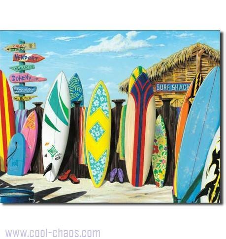 Surf Shack Surfing Sign