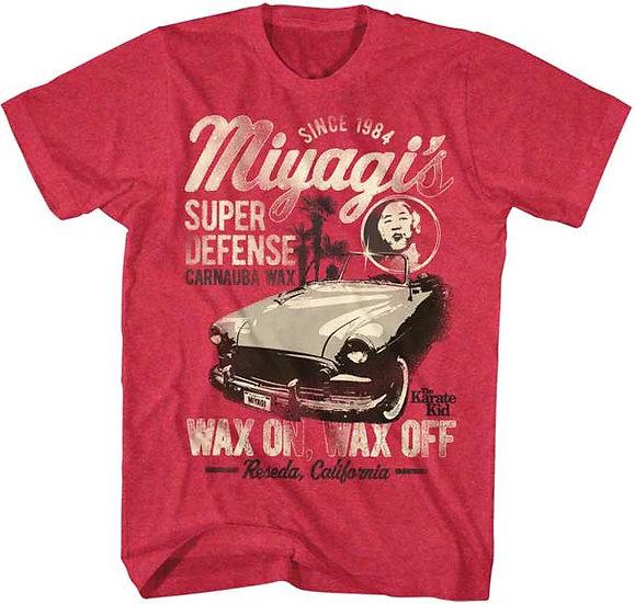The Karate Kid T-Shirt / Miyagi's Wax on Wax off since 1984 Movie Tee