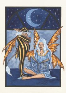 Amy Brown Fairy Art Postcard #10 Fairy Bedtime Stories