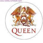 Logo Queen Button