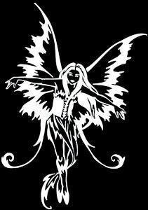 Magic Fairy Laptop Window Sticker