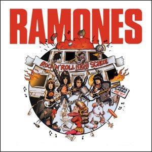 The Ramones ROCK N ROLL High School Sticker