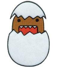 Domo-Kun Patch #3 Domo Hatch Egg