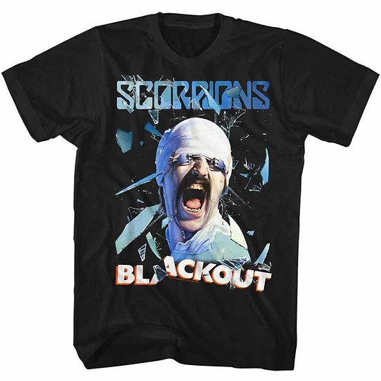 SCORPIONS T-SHIRT / 80'S METAL SCORPIONS BLACKOUT TOUR TEE