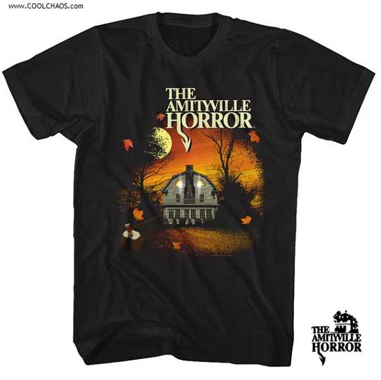 The Amityville Horror T-Shirt / Scary House Horror Movie Tee