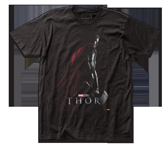 Thor T-Shirt / Chris Hemsworth as Marvel's Thor Movie Poster Tee