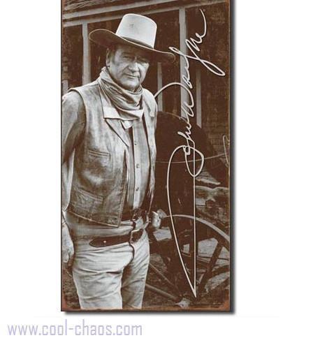 Signature John Wayne Sign