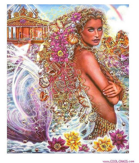 Fantasy Mermaid Sticker