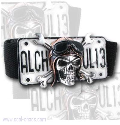 Death Valley Hell Rider Skull Belt Buckle