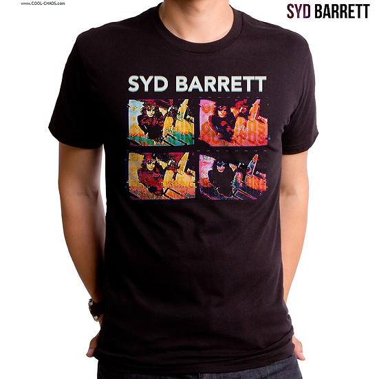 Syd Barrett T-Shirt / Retro,Throwback,Syd Barrett On Tape Rock Tee