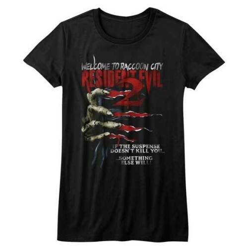 Resident Evil T-Shirt / Welcome to Racoon City! Zombie Juniors Tee