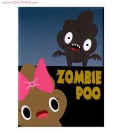 Poop Zombie Magnet