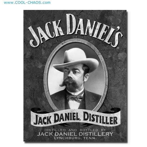 Jack Daniels' Distillery Sign